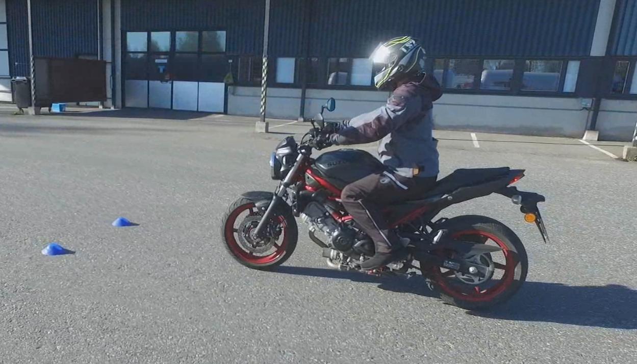 Moottoripyörän Käsittelykoe 2021